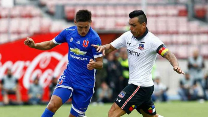 Universidad de Chile vs colo colo