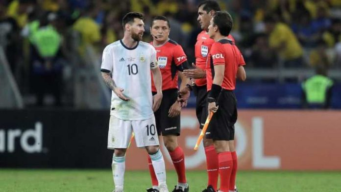 Messi berrinche