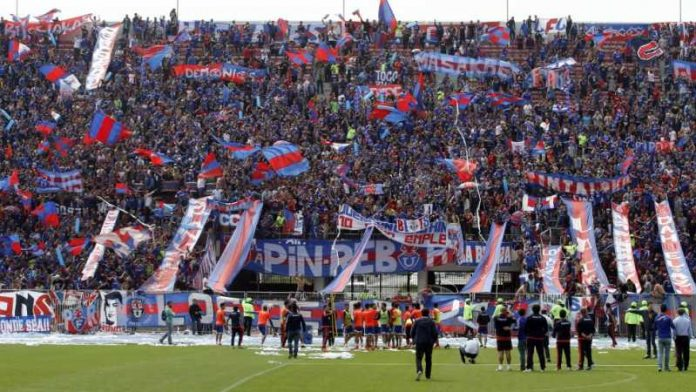 banderazo universidad de chile