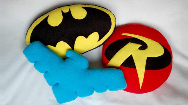 cojines de superheroes