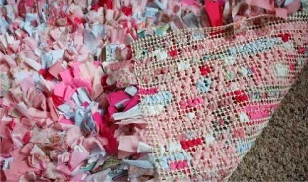 alfombra de tela