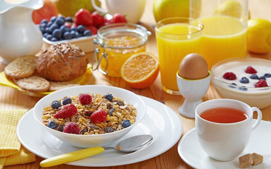 desayuno para tonificar el cuerpo