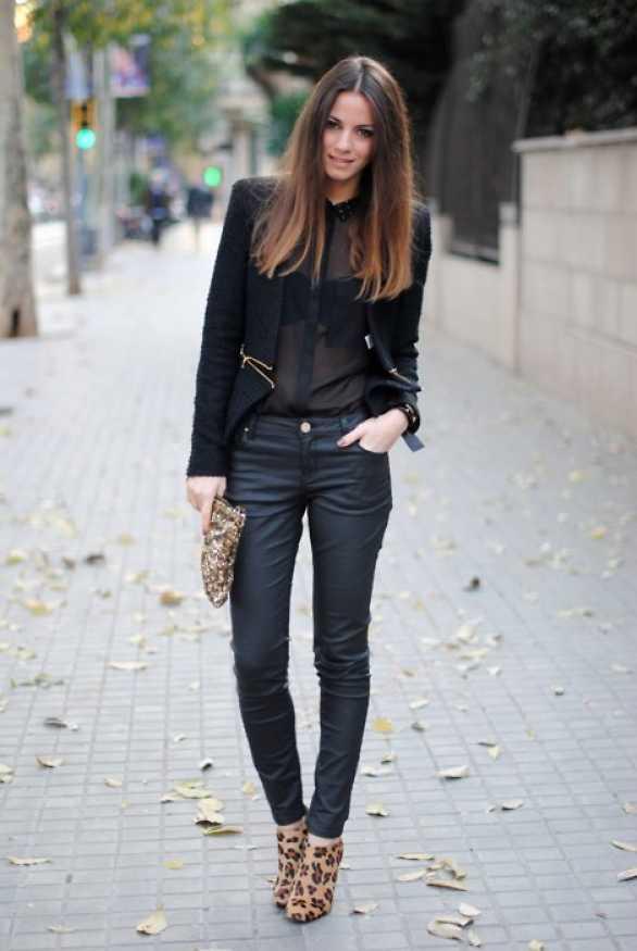 outfits zapatos estampados 4