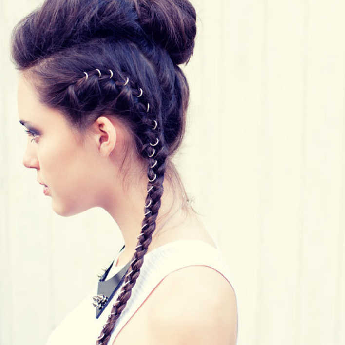 peinados con anillos 2