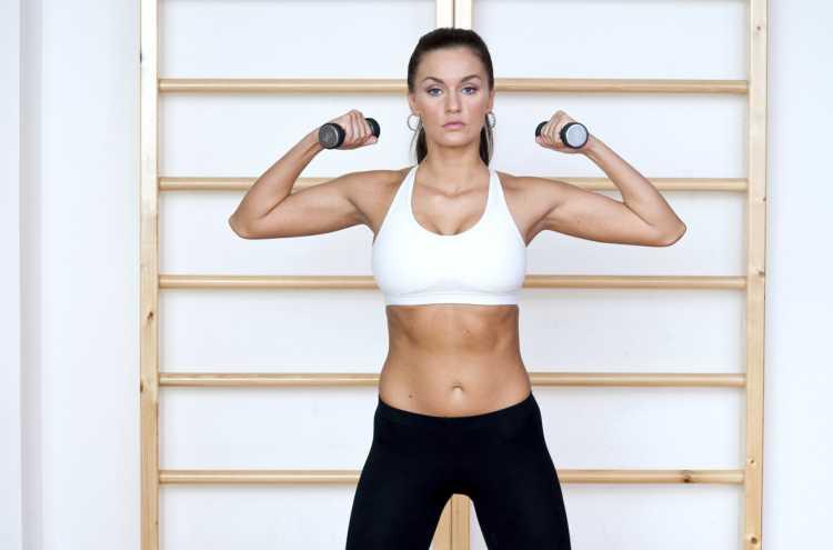añadir pesas a la rutina