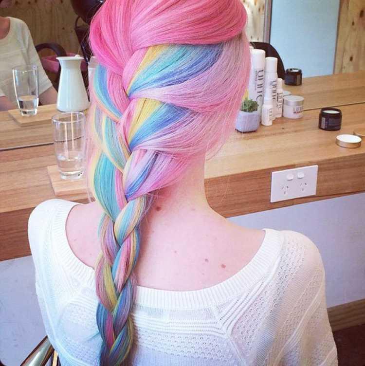 arcoiris pelo