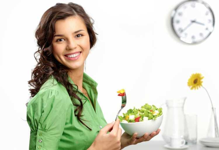 comer comida de calidad