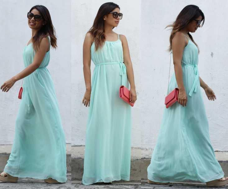 maxi vestidos look
