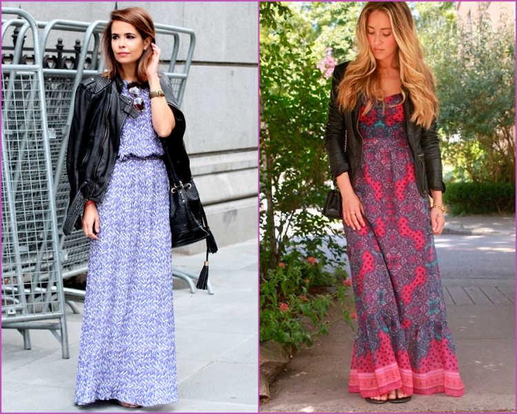 maxi vestidos outfits