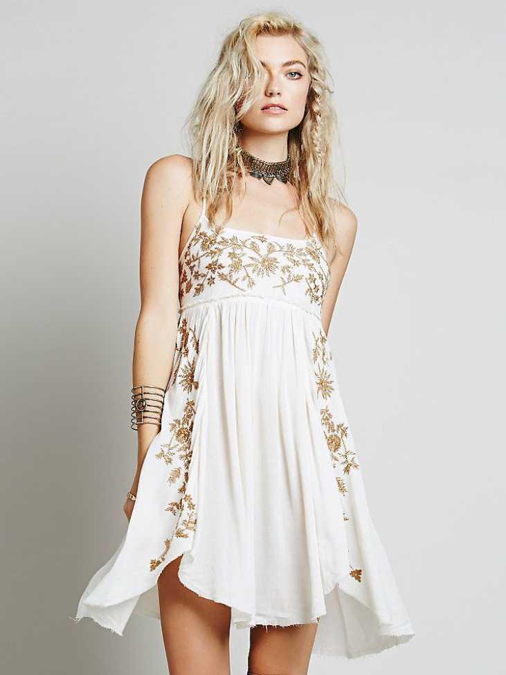 slip dress look