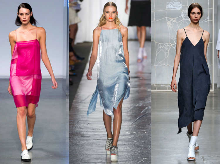 slip dress outfits