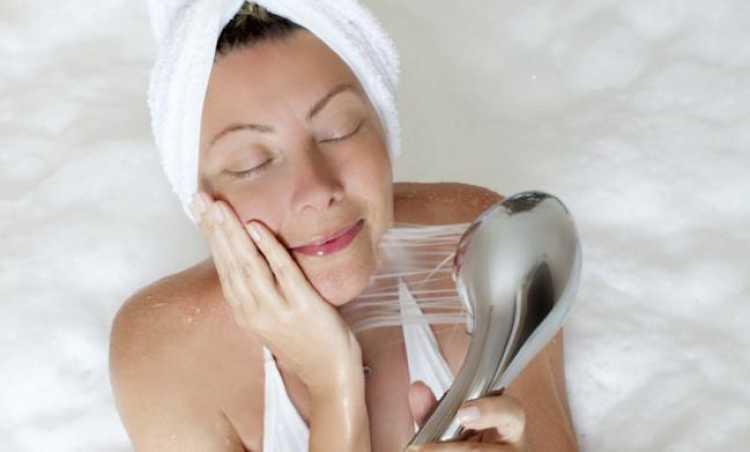 tomar una ducha antes de dormir