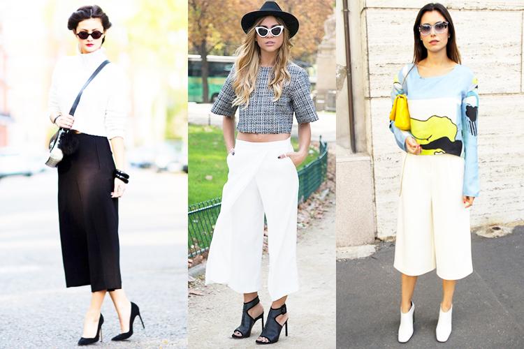 culottes cortos