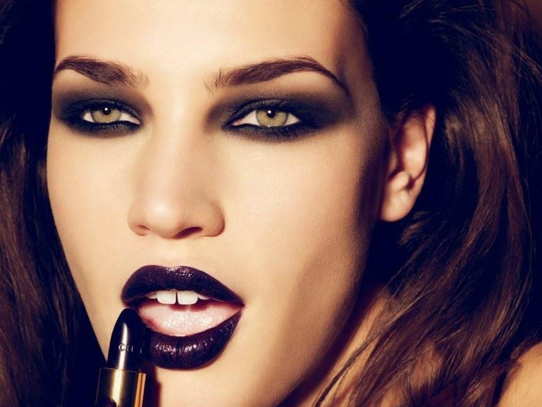 labios oscuros