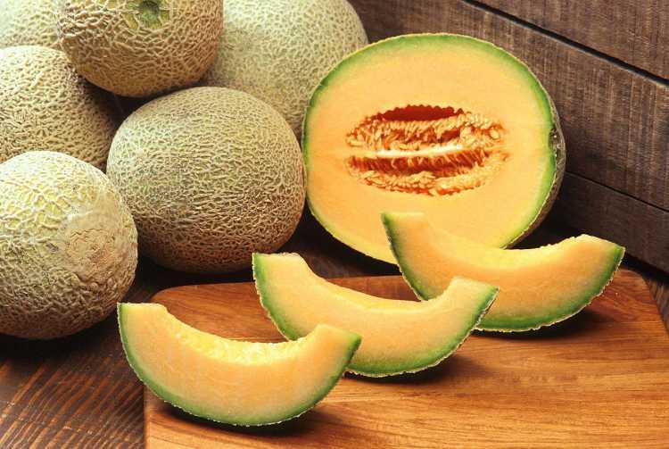 mascara de melon