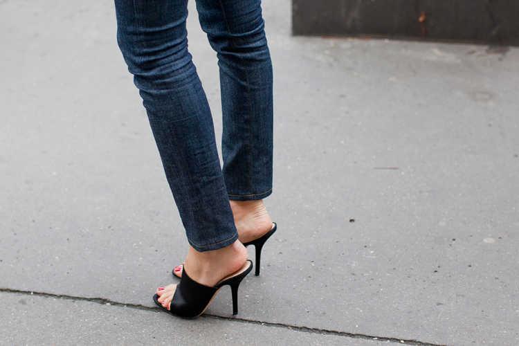 zapatos cubiertos