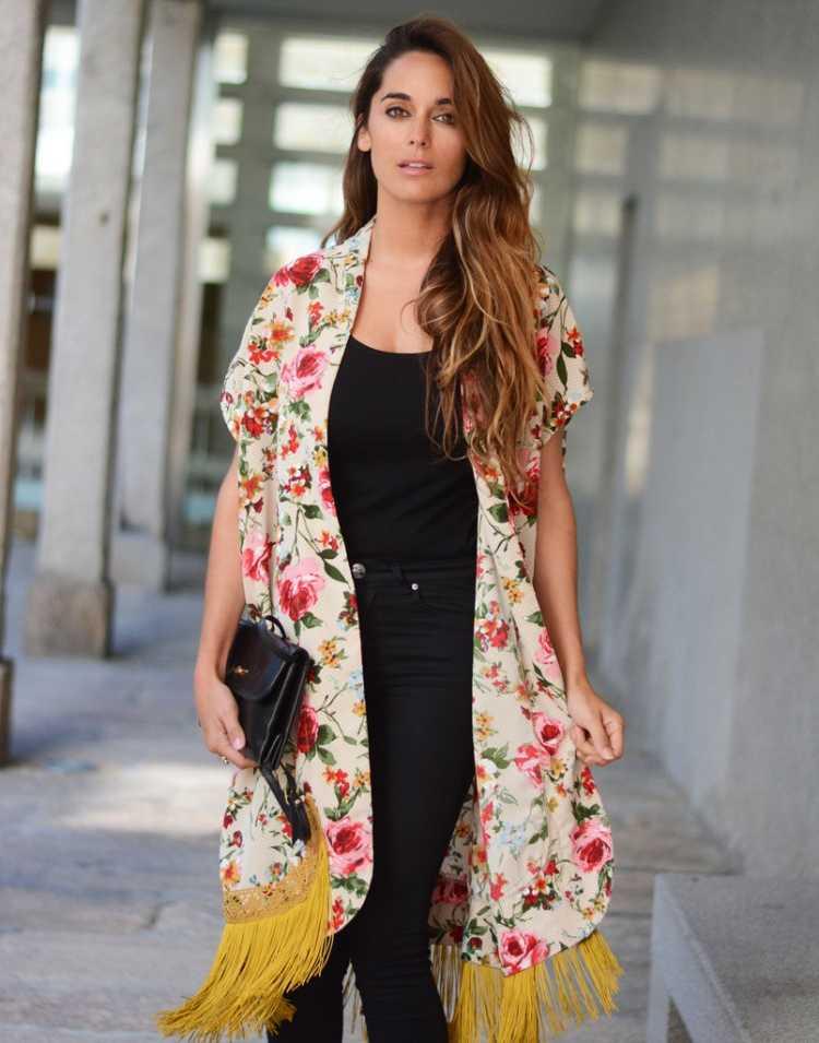 outfits kimono de flores