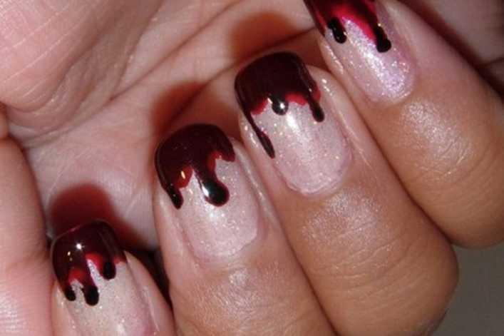 uñas de sangre