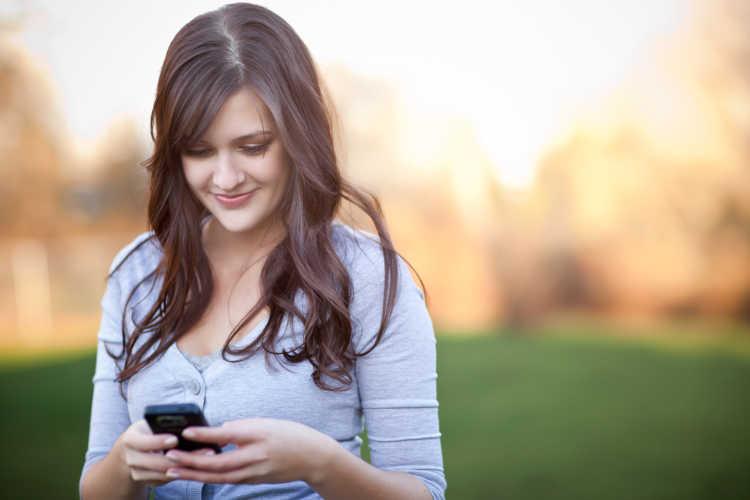 usar celular