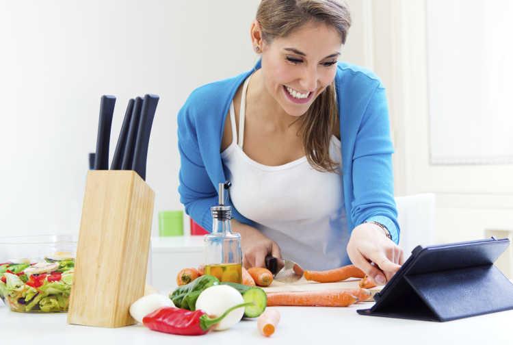 cocinar sano