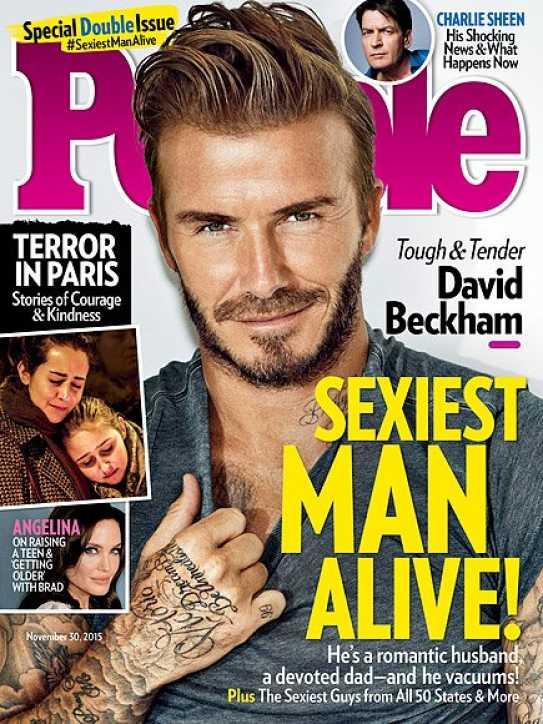 david beckham revista
