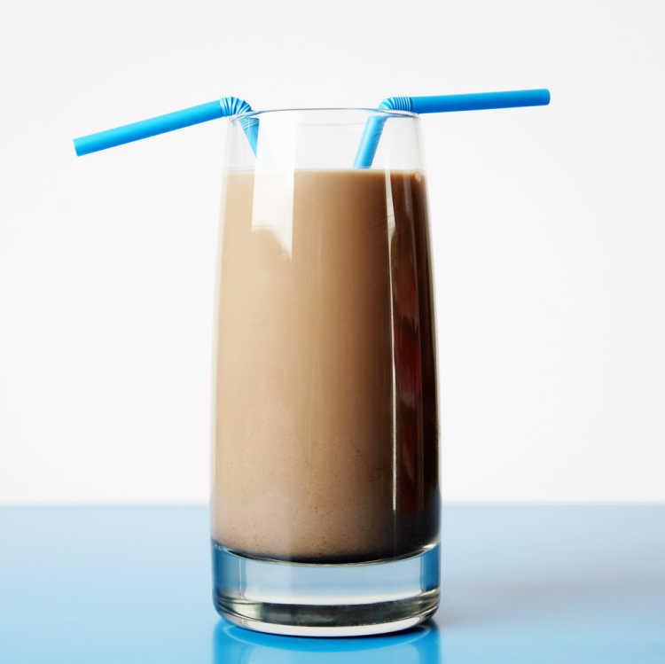 leche con chocolate