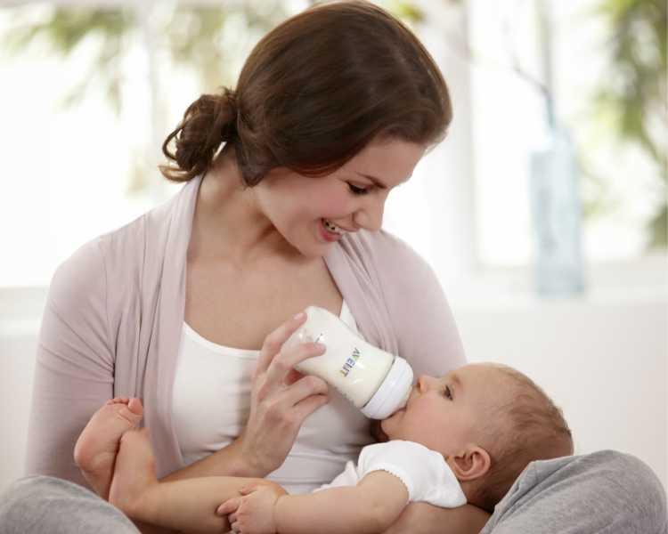 madres no amamantan