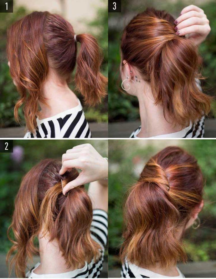 peinado facil de hacer