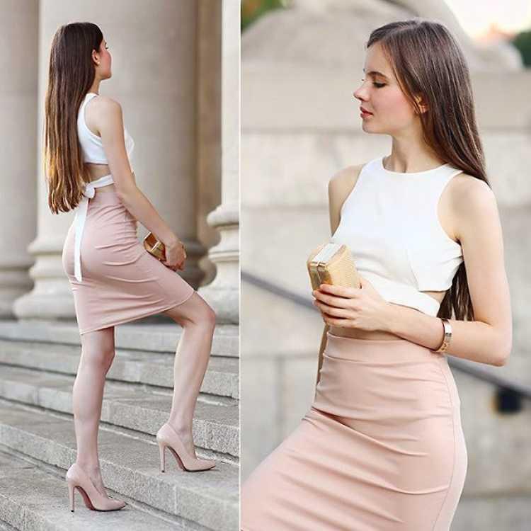 vestido sin escote