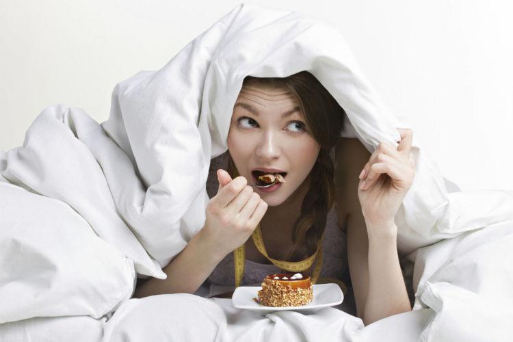 comer en la noche