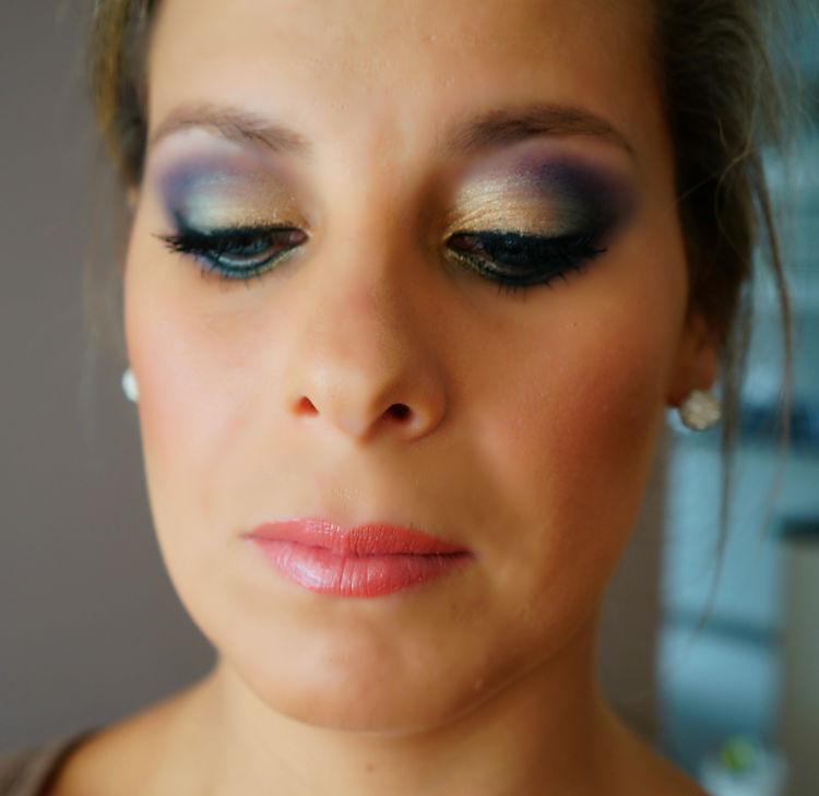 maquillaje para fin de año colores