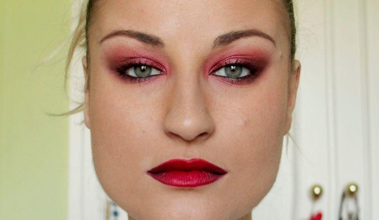 maquillaje para fin de año smokey eyes