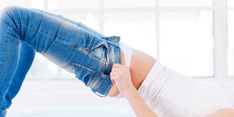 pantalones ajustados