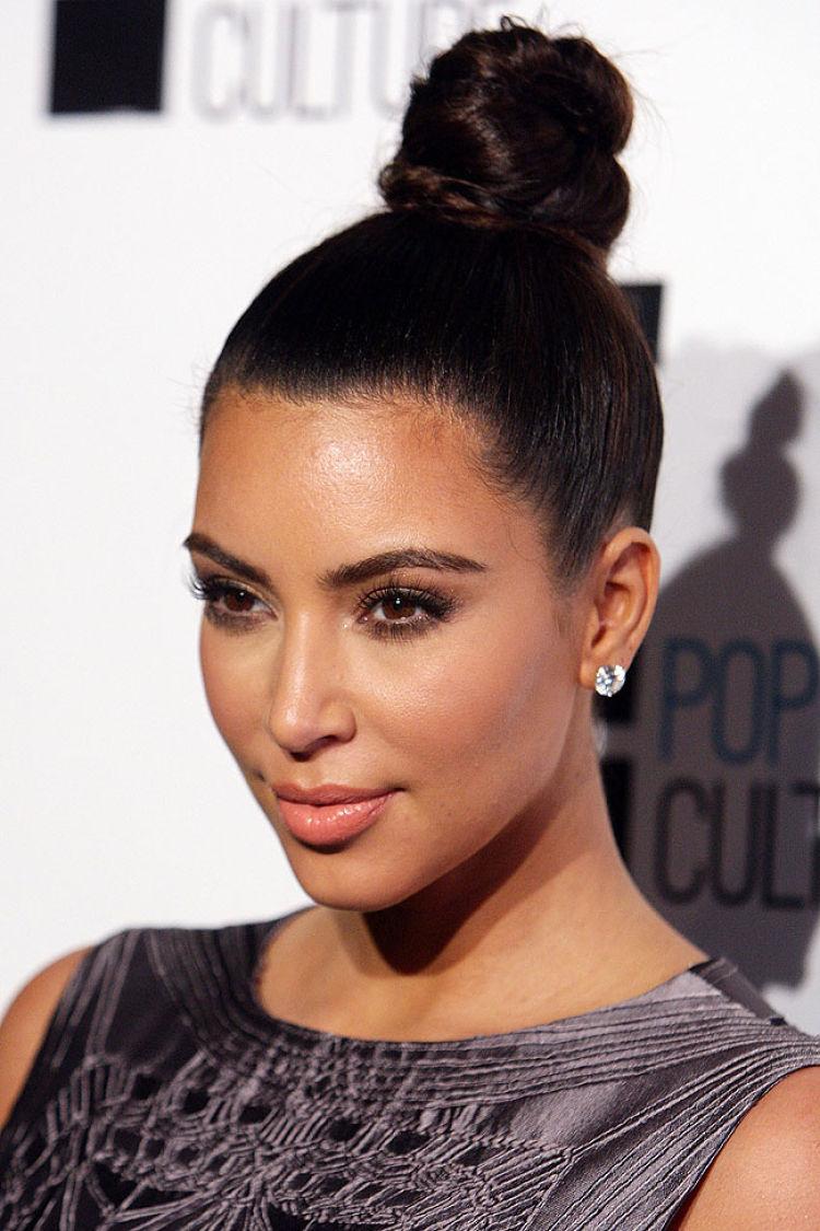 peinado kim kardashian