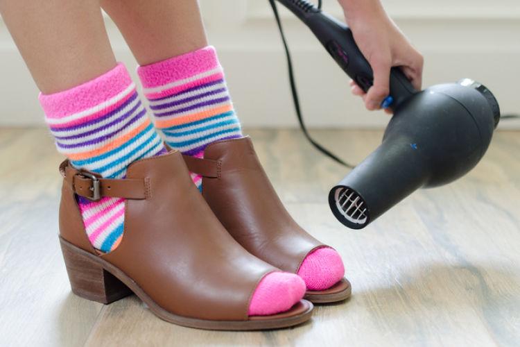 zapatos nuevos trucos