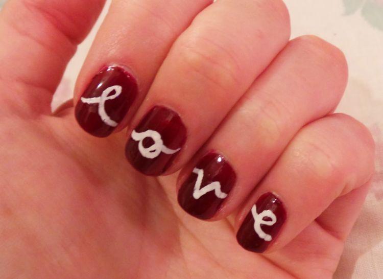 diseño uñas love