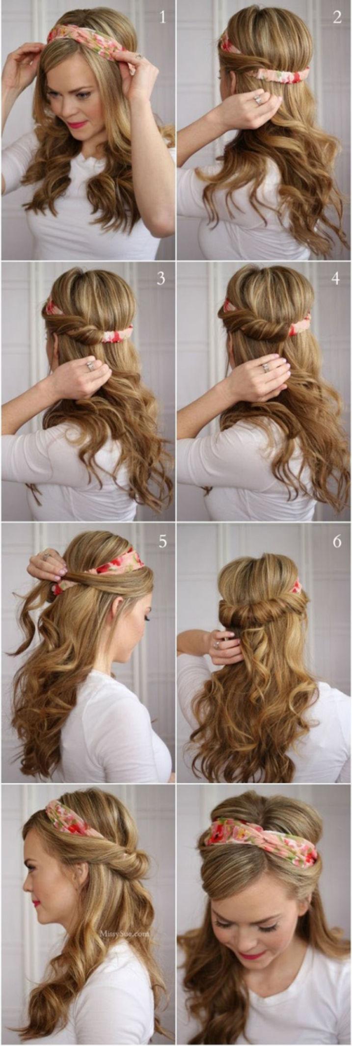 peinados cintillo