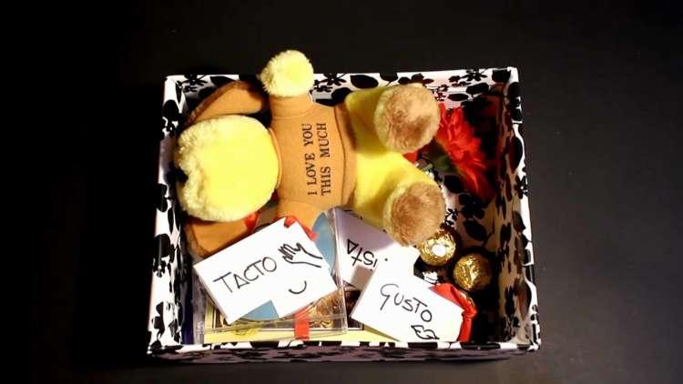 caja de regalos amor