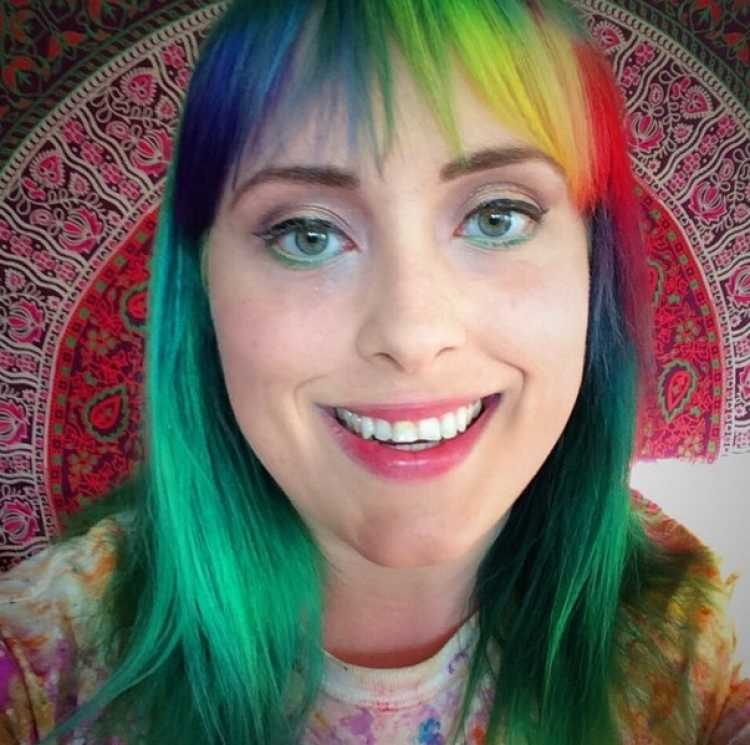 flequillo arcoiris