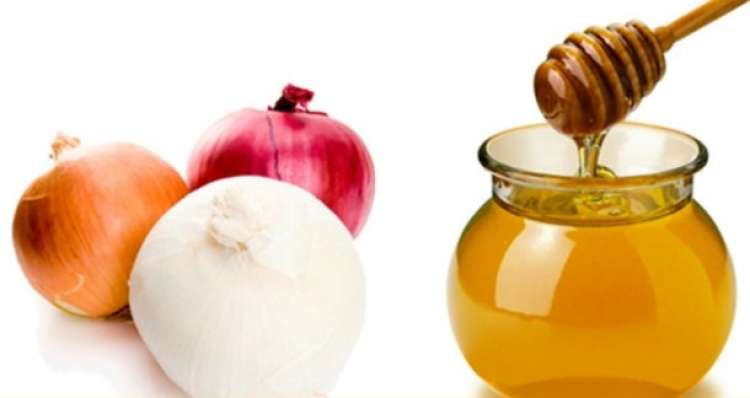 jugo de cebolla y miel