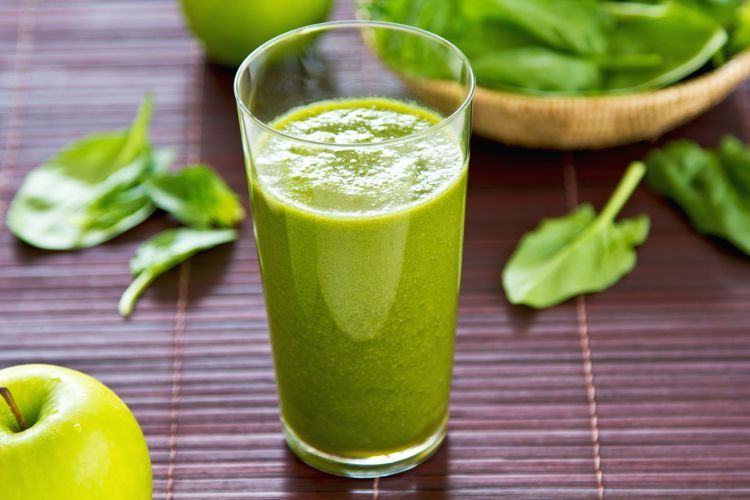 jugo verde para el dolor de cabeza
