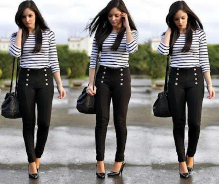 pantalones a la cintura