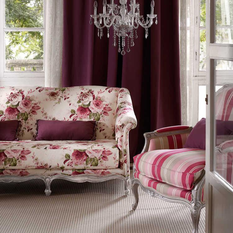 salon clasico floral