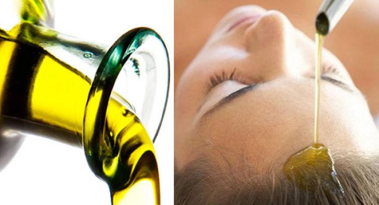 aceite de oliva cabello
