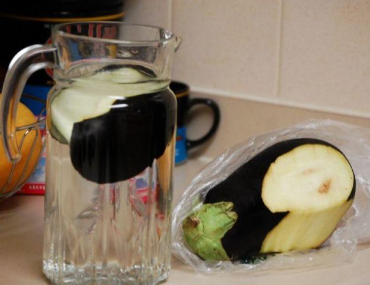 agua de berenjenas para perder peso