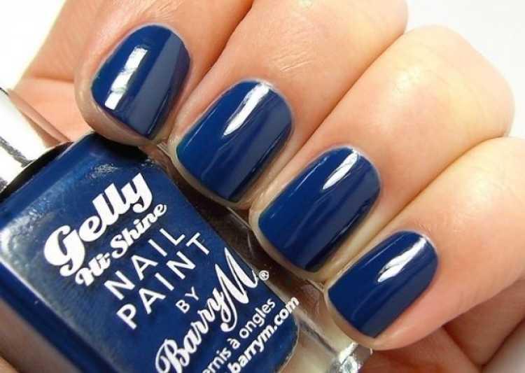color esmalte azul marinno