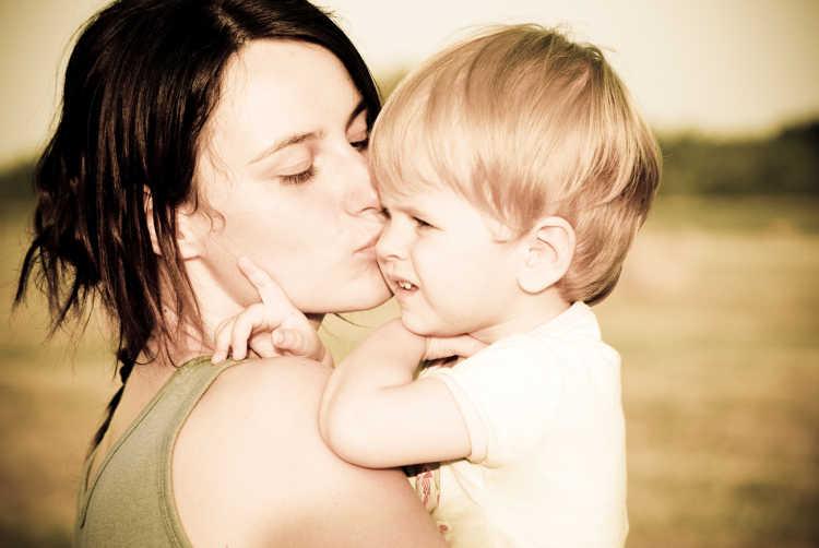 consolar a un hijo