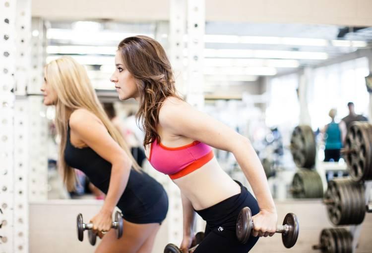 ejercicios con pesas mujeres