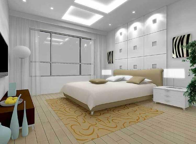 habitaciones con luz artificial