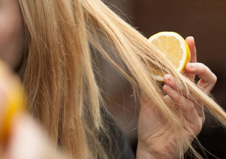 limon para pelo graso